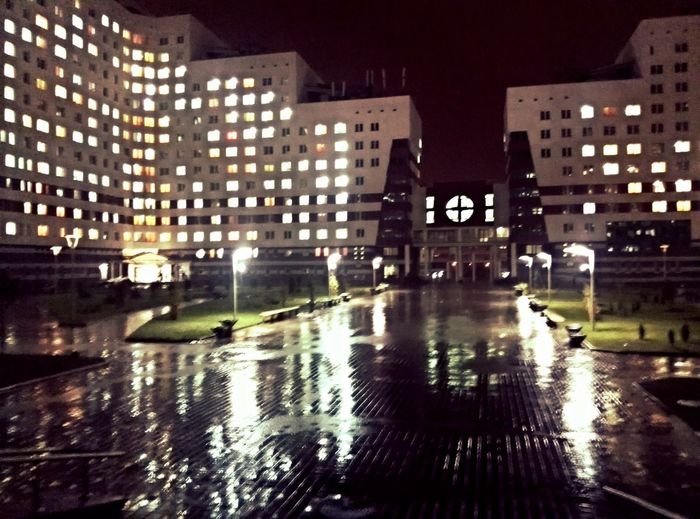 Nighttown Rain