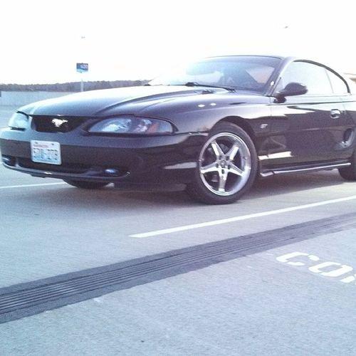 My beautiful ride Mustang GT Mall Ponycar beauty mylove neversell