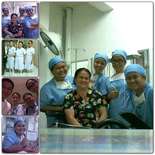 The BEST DUTY EVER. With our BELOVED Nanay :) Wvmc Dr -PM LastDayOfDuty Tambok Bonjing Bingit Kulit