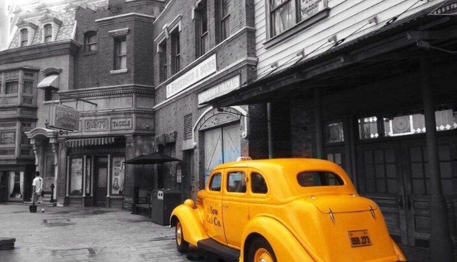 Down the street Yellow Street City EyeEmNewHere EyeEmNewHere