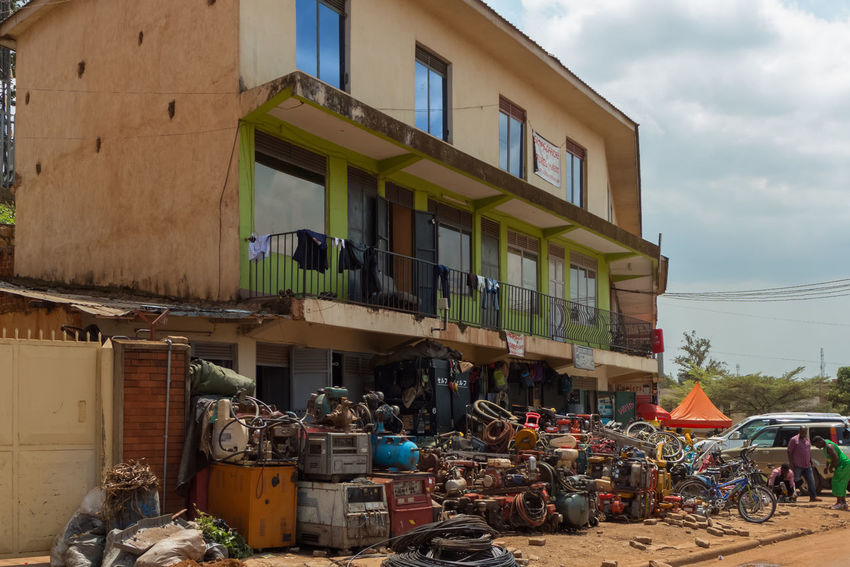 life in Kampala Uganda  Africa Architecture Building Exterior Built Structure Day Garbage Kampala No People Outdoors Sky