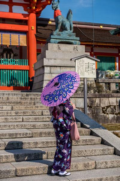 Yukatas at Inari in Kyoto Adult Adults Only Day Inari Inari Shrine Japan Japan Photography Japanese Clothing Kimono Kyoto Nihon Outdoors People Shinto Shrine Shinto Temple Tourists Traditional Clothing YUKATA The Photojournalist - 2017 EyeEm Awards