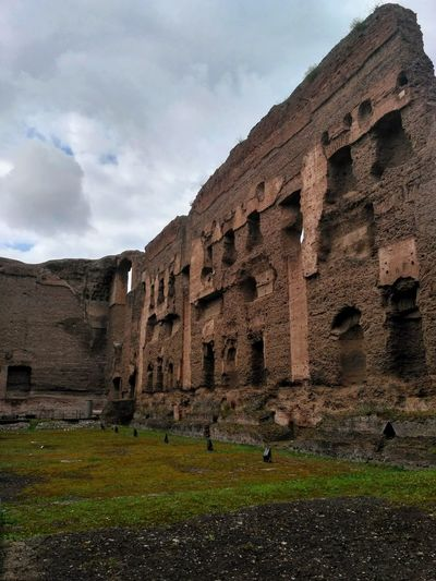 Rome, Italy Terme Di Caracalla Caracalla Rome Ancient Civilization City Old Ruin Ancient History Archaeology The Past Place Of Worship Sky Ancient History Ancient Rome Roman