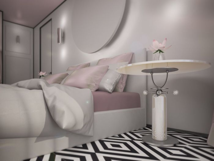 Home Interior Bed Bedroom Design 3D дизайн 3d Relaxing Interior Design стол предметный дизайн Subject