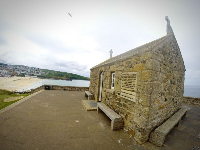 No People Outdoors Architecture Live For The Story Vacations Historic Landscape Architecture Chapel Chapelhill Cloud - Sky Sky Sea Scenics Sea And Sky Church St Ives Bay St IVES, CORNWALL