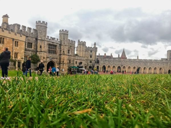 Architecture Large Group Of People Building Exterior Built Structure Grass History Travel Destinations