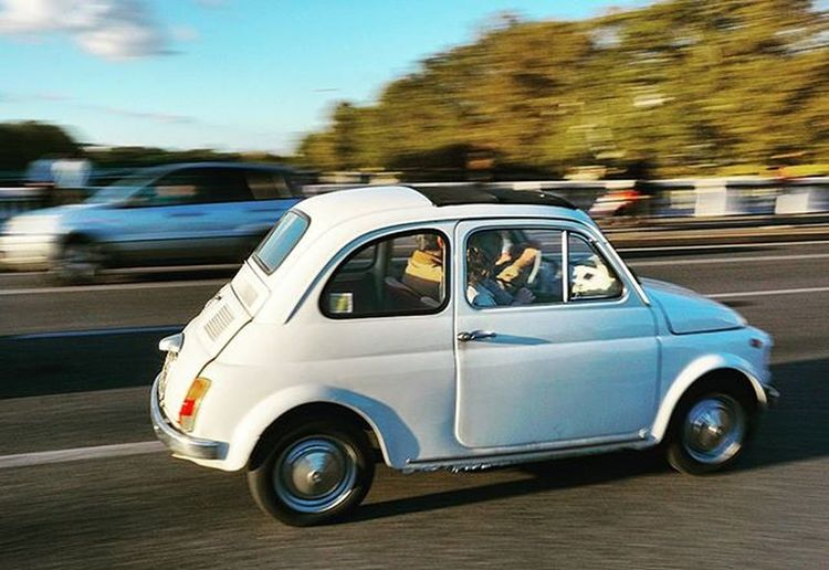 Rome Fiat500 Travel