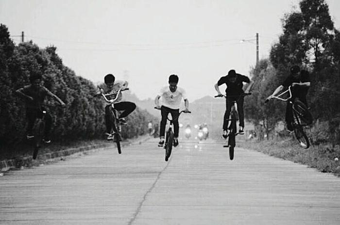 BDG BMX Bmx  Bmxlife Bandungcity Bunnyhop Together