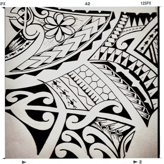 Just my small drawing I did last night!! #tribal #tatted #poly