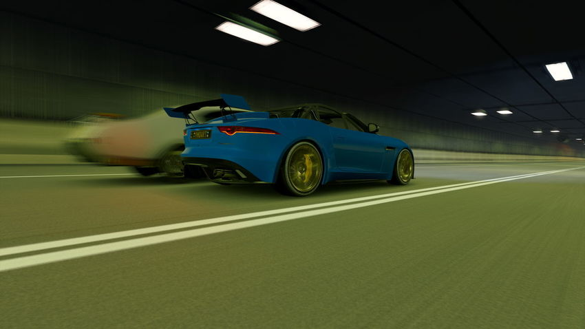 Jaguar F-Type Architecture Blurred Motion Bmw Car City Competition Illuminated Land Vehicle Mode Of Transportation Motion Motor Racing Track Motor Vehicle Moving Night No People on the move Outdoors Road Speed Sport Street Transportation