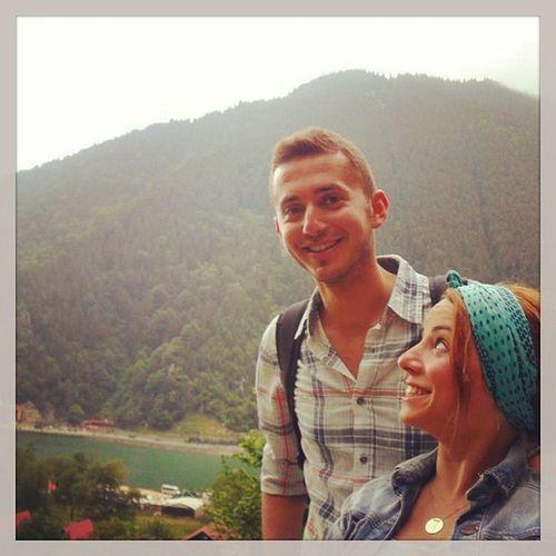 Trabzon Uzungöl Kardesime Sebeklik yaparken :)