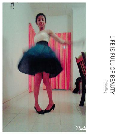DANCE ♥ EyeEm Gallery Frock Leisure Activity Lifestyles Lovely My Sister ❤ Portrait She Cute