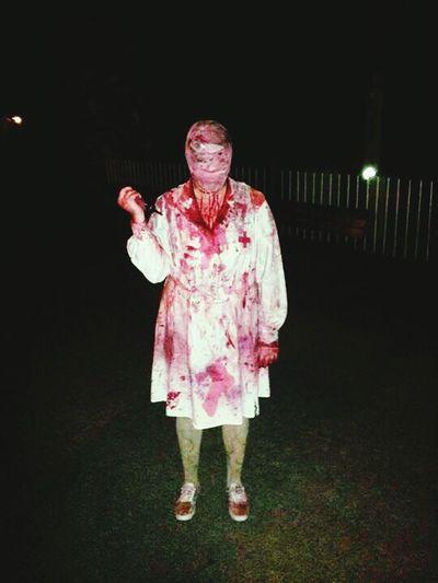 Crippy Night Salem NH Helloween October 3⃣1⃣ Blood Murder Woman Knife Run
