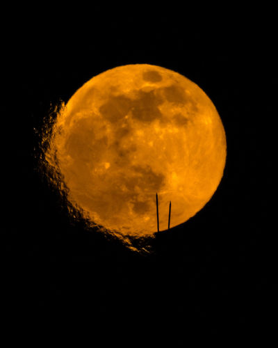 Steamy super moon Space Astronomy Sky Moon Night Circle Planetary Moon Shape Beauty In Nature Geometric Shape Nature Scenics - Nature Moon Surface Tranquility Orange Color Tranquil Scene Outdoors Full Moon Majestic Dark Space And Astronomy Eclipse Moonlight Minsk Supermoon