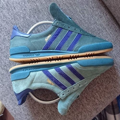 Half way... Love them even more when they are darker Adidasjeansmk2 Adipimping Thebrandwiththreestripes Todaystrainers Adidas