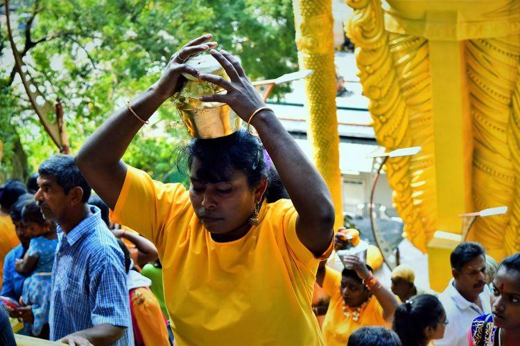 Festival #thaipusam Milkpot Offering Lord Murugan