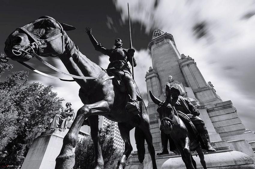 No People Travel Destinations Madrid Madrid,spain Madrid ❤ Taking Photos Madrid, Spain Urban Scene Black And White B&w Street Photography Architecture
