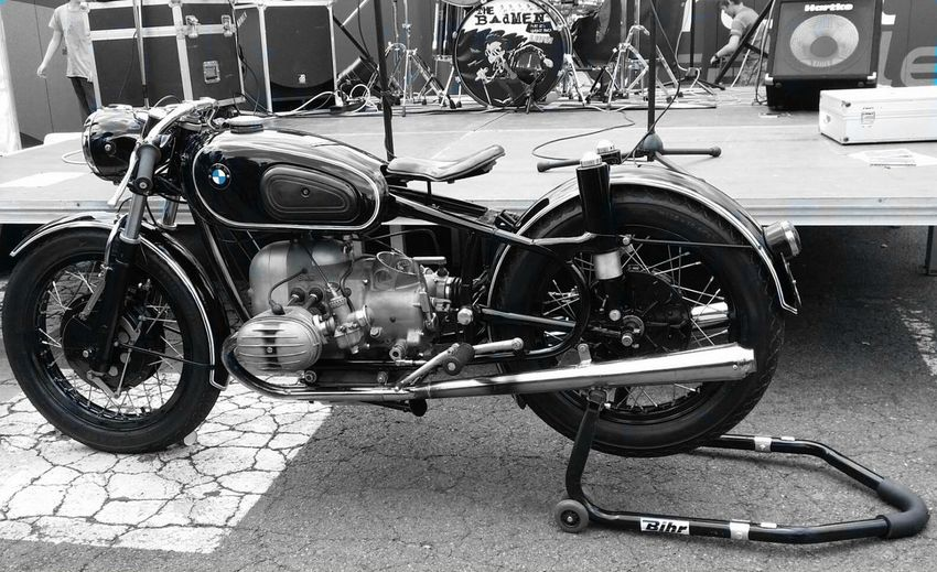 Motorcycle Transportation Mode Of Transport Bicycle Outdoors Blackandwhite Noir Et Blanc First Eyeem Photo Motorcycle Moto Motorbike Motorcycles Motorcycle Photography Vintage Motorcycles Vintage Moto BMW Motorrad Bmw Bmw Motorcycle Vintage Oldschool