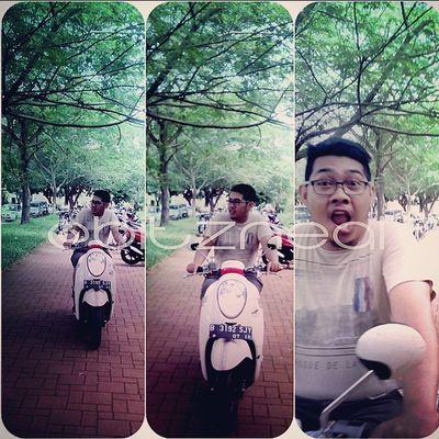 Jakarta pagi ini. BitzArt Biker Picsart Run