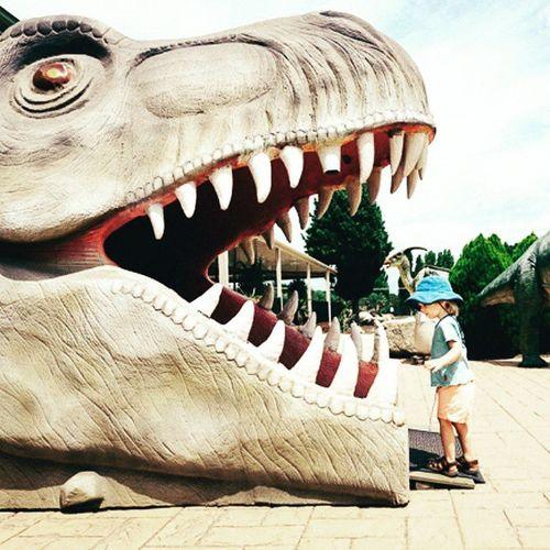 Thelionsden Intothebreech Dinosaur