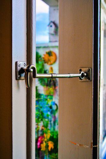 Door Hook House Close-up Outdoors Day Closed Doors Point Of View Security Lock Safety Metal Protection Door Handle Doorway Entryway Open Door Entry Entrance Locked Hinge Closed Door Front Door Security No People Handle Doorknob Focus On Foreground Knob