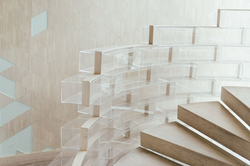 Wood Architecture Close-up Glass Glass - Material Indoors  Interior Interior Design Minimalism No People Staircase Steps Steps And Staircases Wood - Material