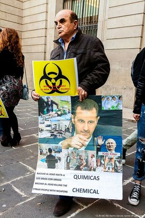 Siria Siria Solidarity Chemical Weaponns No To War