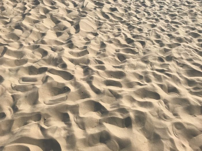 Sand on the