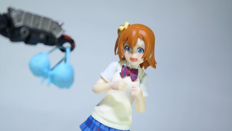 I don't even know what caption i should put for this but Honoka's face is hilarious------ Honokakousaka Lovelive Loveliveschoolidolproject Bishoujoheaven Anime Figma Maxfactory Toyphotography ACBA Acbafam