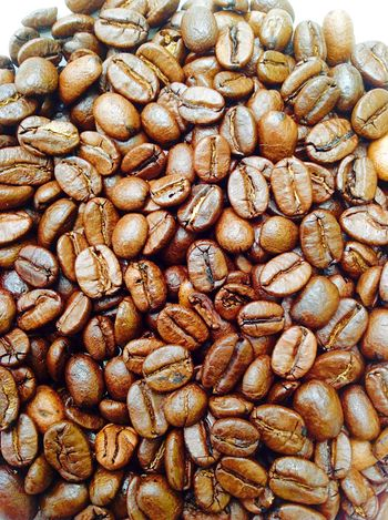 Coffee beans. Coffee Bean Food And Drink Brown Close-up Overhead View Coffee Coffee Time