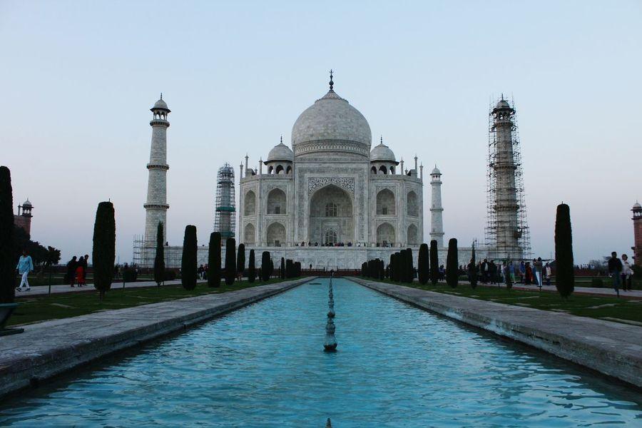 The Great Tajmahal India Evening Sun