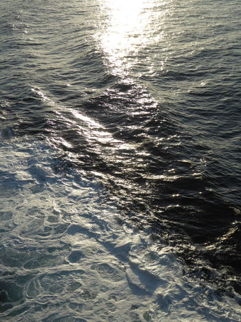 Clear Blue Sea Blue Sea Irish Sea Ferry Coll Scotland Scottish Highlands Oban Tiree Scottish Scotland Water Sea Backgrounds Full Frame Sunlight Wave Rippled Close-up