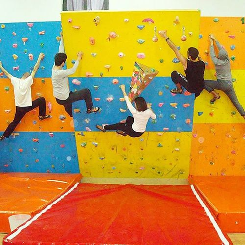 Gymnasts Gymnastlife Gym Climbing