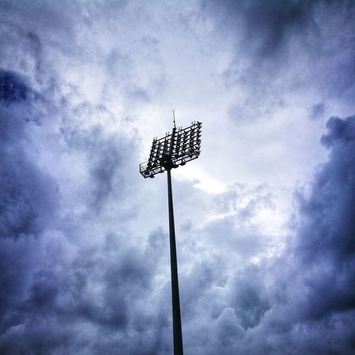 Cloud - Sky Sky Low Angle View No People Outdoors Weather Vane Day Technology Nature Rain