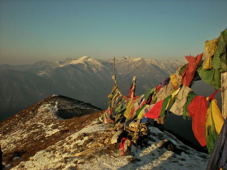 Landscapes With WhiteWall Sikkim Himalayas India PrayerFlags Flags Mountains Landscapes Nature No People Hiking Traveling Travel Travel Photography Morning Sunrise The KIOMI Collection The Great Outdoors With Adobe The Great Outdoors - 2016 EyeEm Awards Finding New Frontiers Lost In The Landscape
