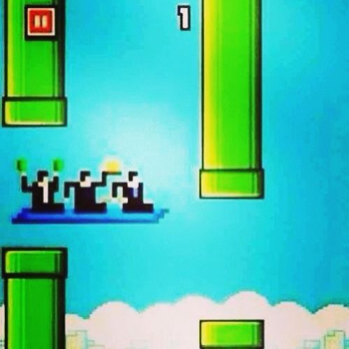 The Flying Carpet Shaman King. Lagi susah drp Flappy Bird. BomohWins .