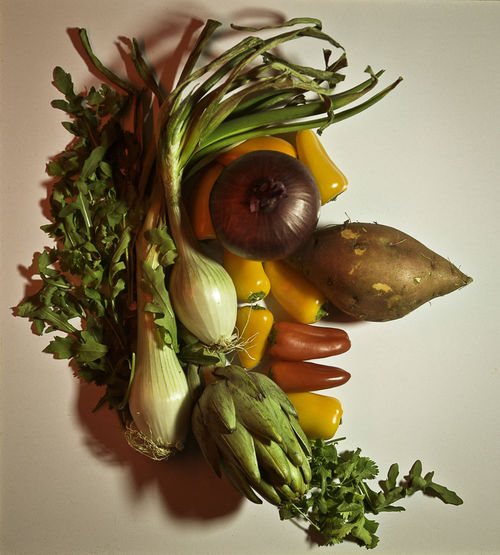 Arcimboldo Food Freshness Healthy Eating Indoors  Portrait Still Life Studio Shot Vegetable