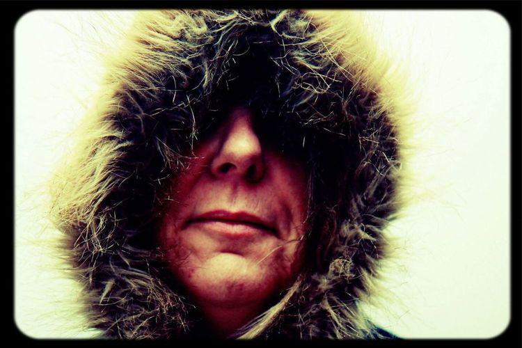 Hooded figure, inspired by David Bailey Portrait David Bailey