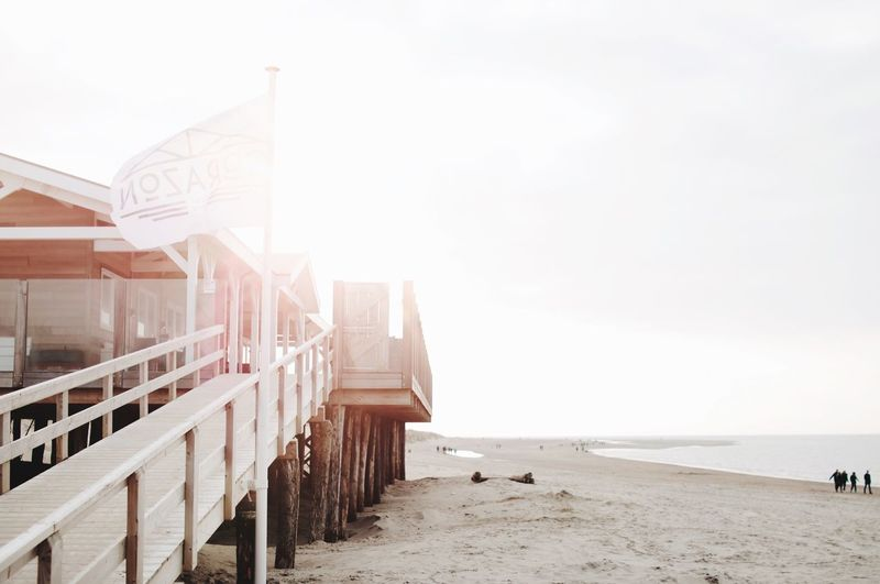 Beach EyeEm Selects Beach Sand Copy Space Sea Outdoors Day Nature Architecture Water Sky No People