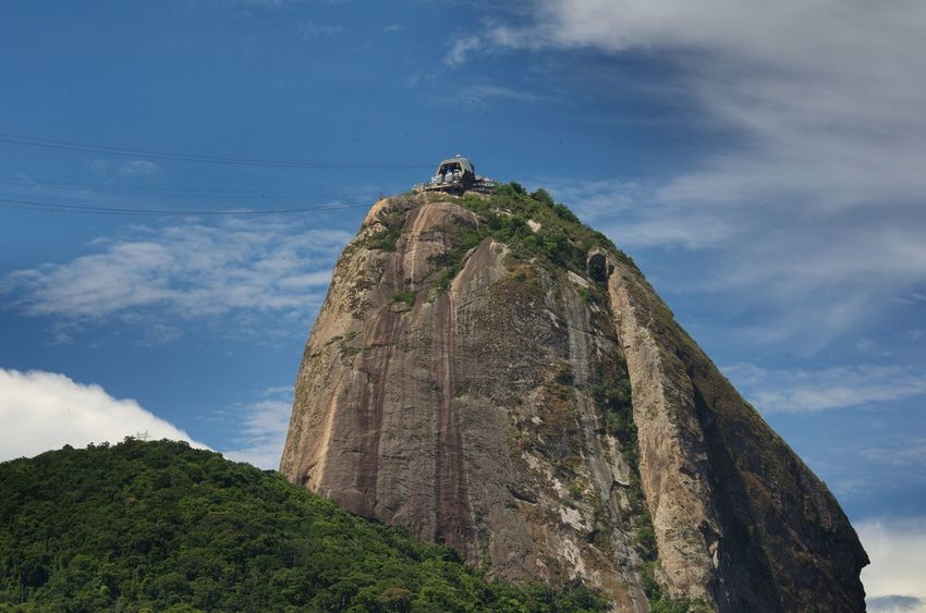 Morro Da Urca Urca Urca Beach Low Angle View Nature Tranquility Beauty In Nature Rock - Object Scenics Day Sky Outdoors Mountain Tree Nikon D5100  Brazil Brasil ♥ Brasil Rio De Janeiro Nature_collection Nature Pão De Açucar Sugarloaf 🇧🇷 The Great Outdoors - 2017 EyeEm Awards Colour Your Horizn Adventures In The City