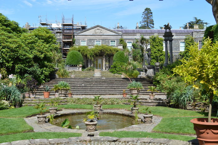 Northern Ireland Formal Gardens Formal Garden Mount Stewart Mount Stewart Gardens Mount Stewart National Trust Garden Stately Home Old Country Pile Flowers Beautiful Garden Flowers,Plants & Garden Classical Architecture Stone Steps Lily Pond Ornamental Pond Ornamental Garden Summer