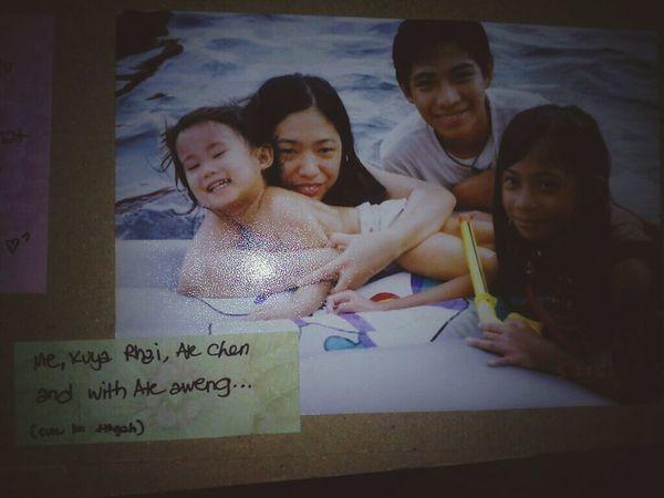 Throwback BabyDays at batangas <333 @megALYSSA03 PANGIT KA NA TALAGA DATI PA HAY