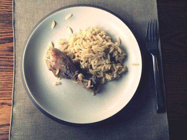 Home Cooked Orzo Greek Food Chicken