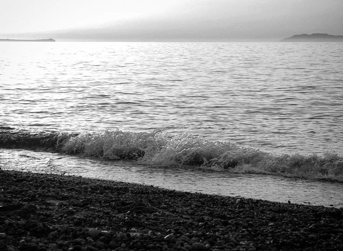 Sea Beach Water Nature Sand Tranquility Tranquil Scene Beauty In Nature Horizon Over Water Wave Sky Nature No People Passionforphotography Canon_official Canoneos1100D Canonphotography Amateurphotography Canon1100d Canon_photos Canon_shoot Canon_camera Canon_offical Canon_bw Bnw