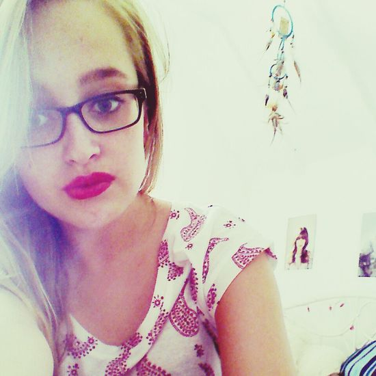 red lipstick and sunshine Taking Photos Selfie Summer 2013 Teenager Posts