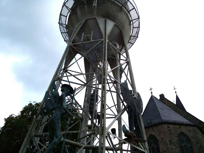 Old water tower in Gronau (Germany/NRW) water tower water tower in Gronau gronauwestfalen