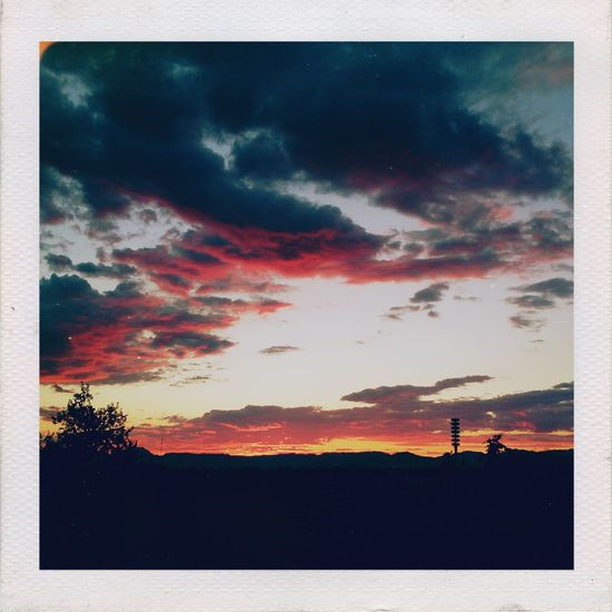 At the end of the day, love it's all what matters. Mobilephotography XPERIA Lumiocam No People Visual Poetry Sunset Cloudy Skies TeamWeirdoForever Afterlight Polaroid