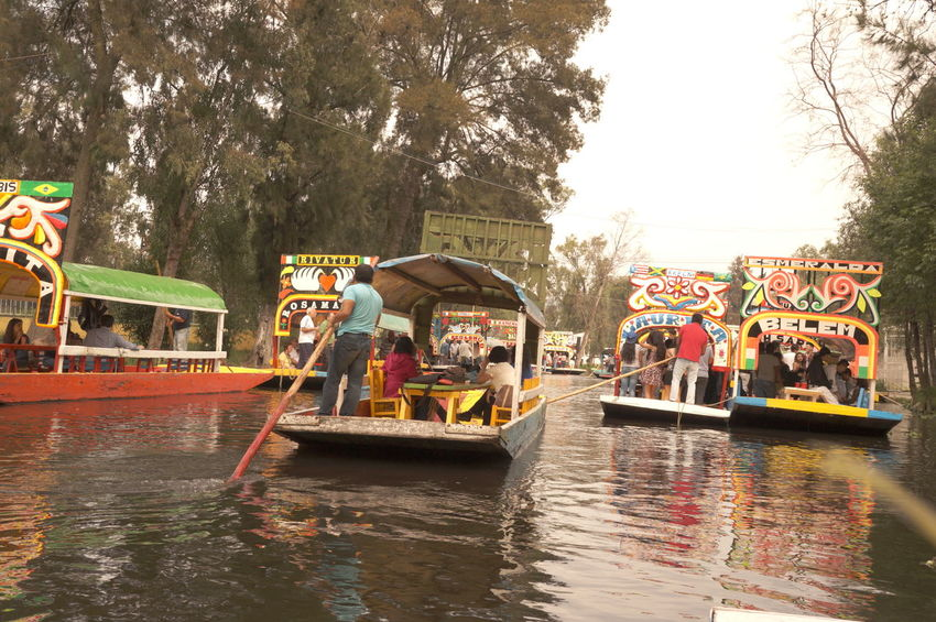Xochimilco, México Travel Destinations Travel Transportation