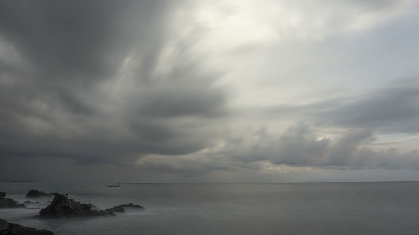 Dramatic Sky Storm Cloud - Sky Cloudscape Storm Cloud Thunderstorm Weather Horizon Over Water Landscape Scenics Sea Beauty In Nature Environment Dark Tranquil Scene Awe Nature Sky No People Extreme Weather