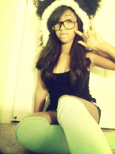 ima a panda hehe #me#cute#asian #yay #swag #panda #nerdy